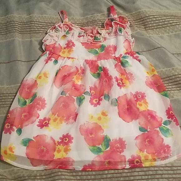 Beautiful Flower dress. Size 2T.